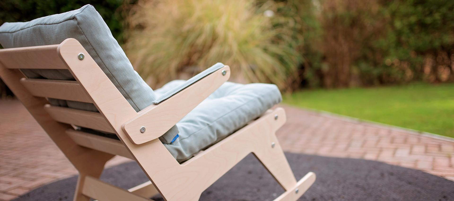 schommelstoel op maat