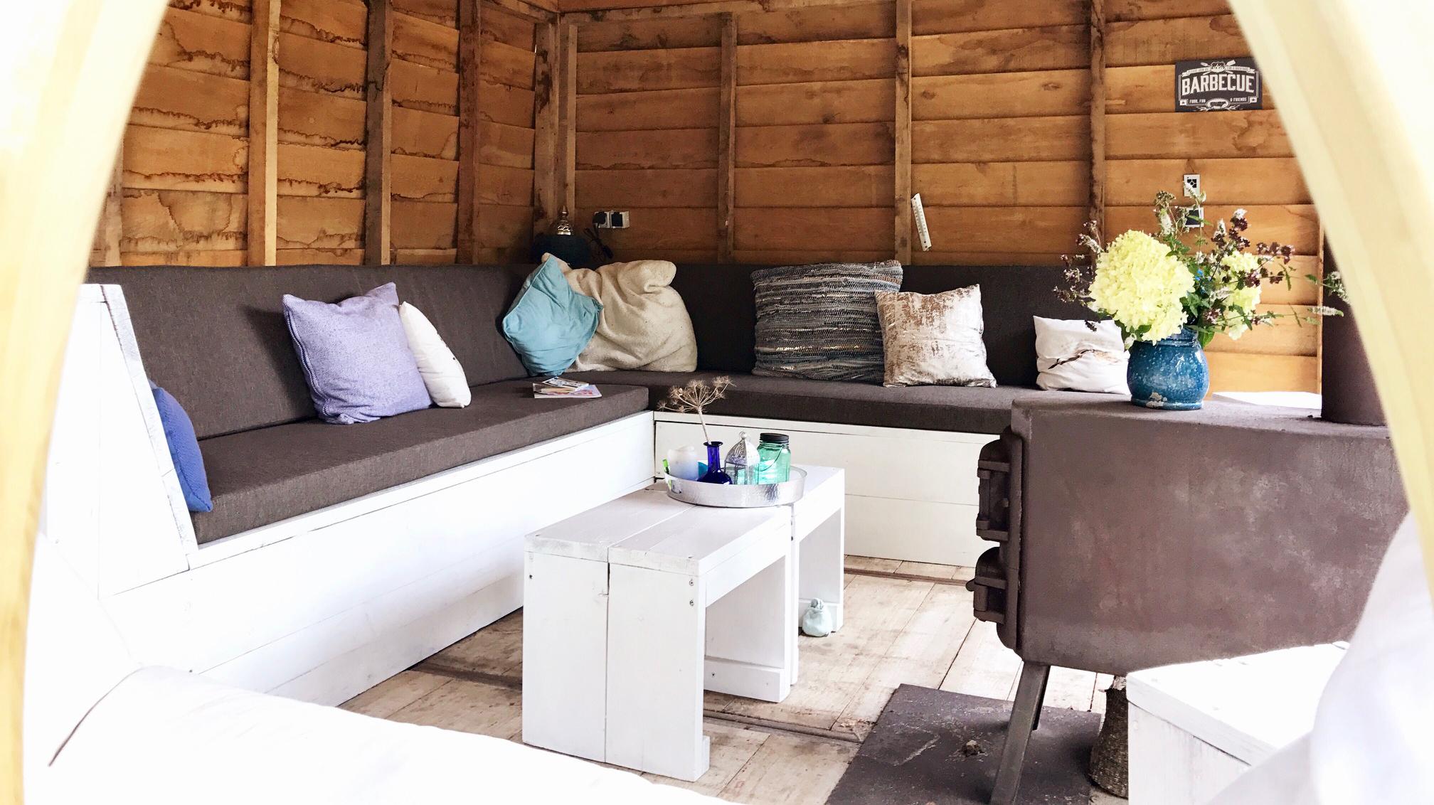 zitkussens loungebank