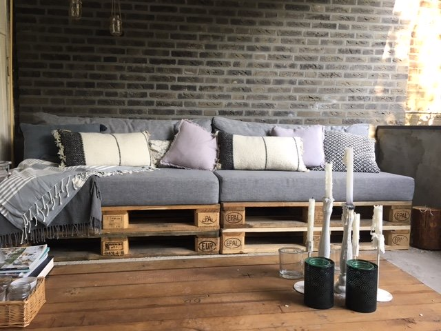 Kussens Voor Loungebank : Loungebank arvin bruin met losse kussens hoekbanken