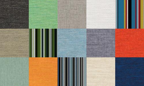kleuren voor all-weather kussens