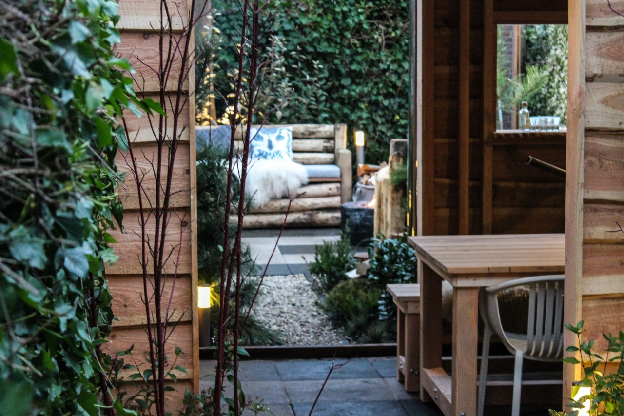 wintertuin loungebank