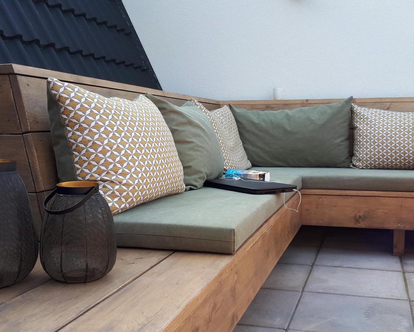 Maatkussens loungebank